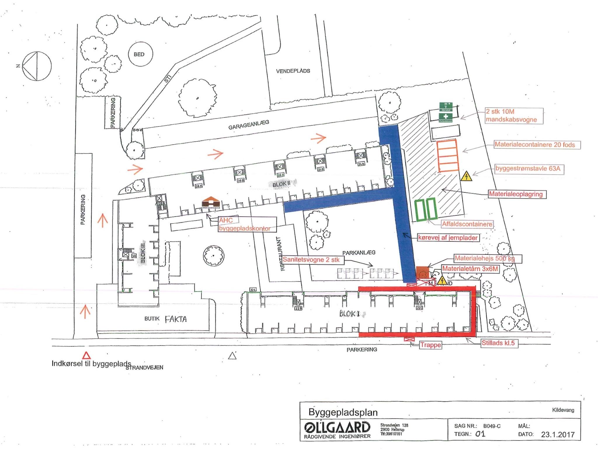 Byggepladsplan